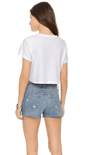 CLAYTON Cropped Tee