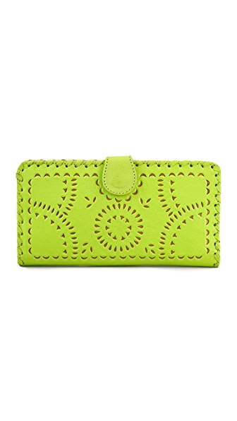 Cleobella Mexicana Painted Mini Wallet