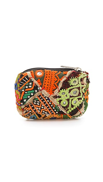 Cleobella Raj Embroidered Coin Pouch