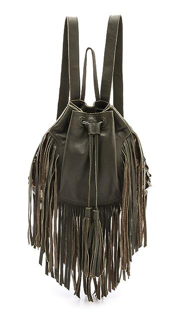 Cleobella Emerson Fringe Backpack