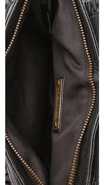 Cleobella Leopard Banjo Bag