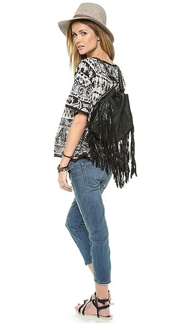 Cleobella Fringe Backpack