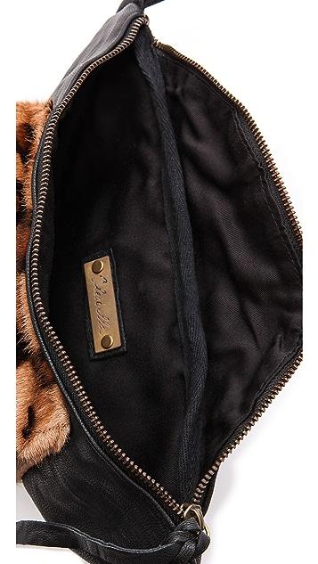 Cleobella Rebel Belt Bag with Haircalf Leopard Pocket