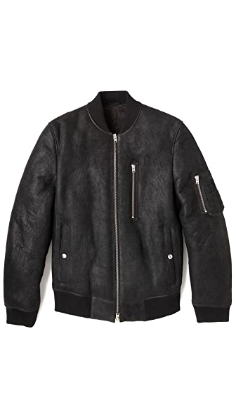 Closed MA1 Shearling Jacket