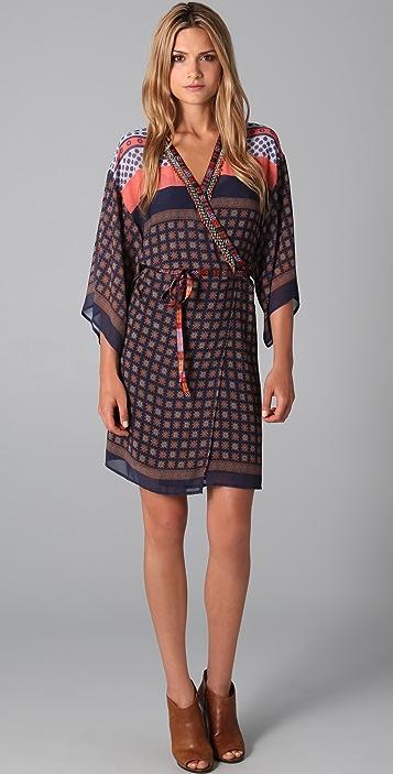 Clover Canyon Kimono Wrap Dress