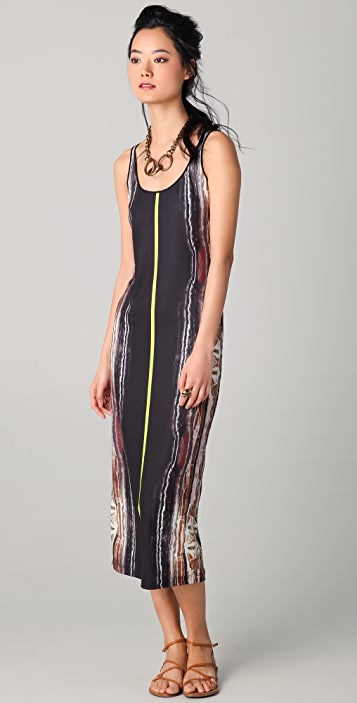 Clover Canyon Onyx Print Dress
