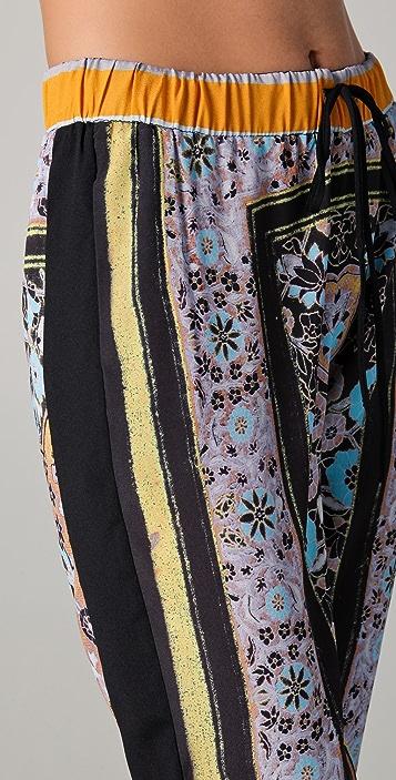 Clover Canyon Folk Print Pants
