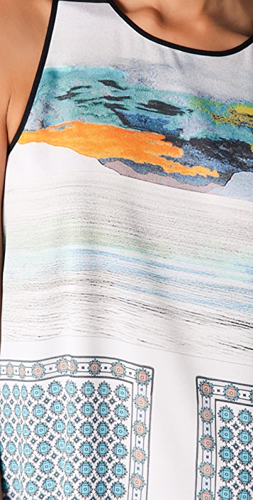 Clover Canyon Landscape Foulard Dress