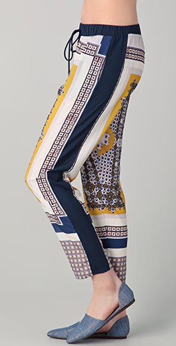 Clover Canyon Geo Scarf Foulard Pants