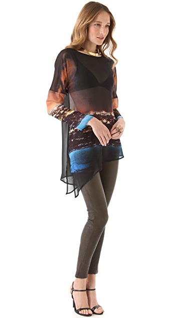 Clover Canyon City Lights Tunic Top