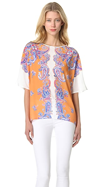 Clover Canyon Bordered Paisley Top