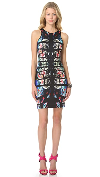 Clover Canyon Aquarium Puzzle Pencil Dress | SHOPBOP