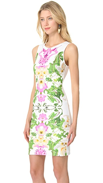 Clover Canyon Flower Neoprene Dress