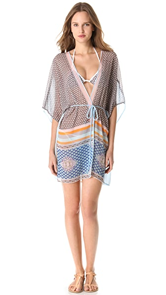Clover Canyon Chainmail Scarf Kimono
