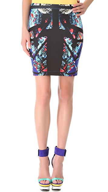 Clover Canyon Aquarium Puzzle Neoprene Skirt