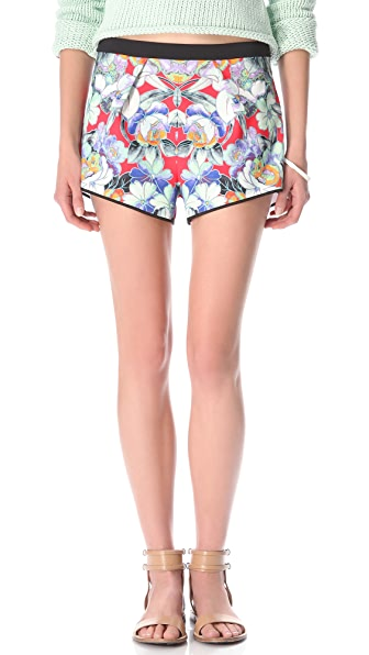 Clover Canyon Flower Tracers Shorts