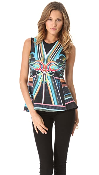 Clover Canyon Midnight Diner Top