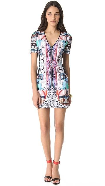 Clover Canyon Dashboard Neoprene Dress