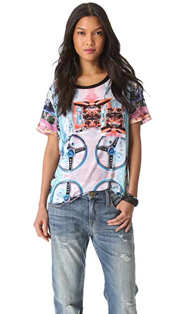 Clover Canyon Wheels Tee