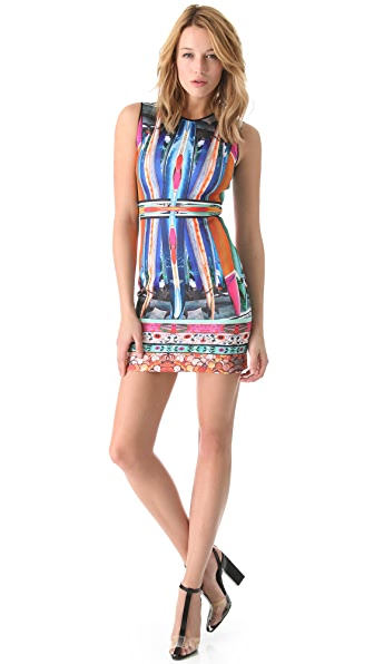 Clover Canyon Long Board Neoprene Dress