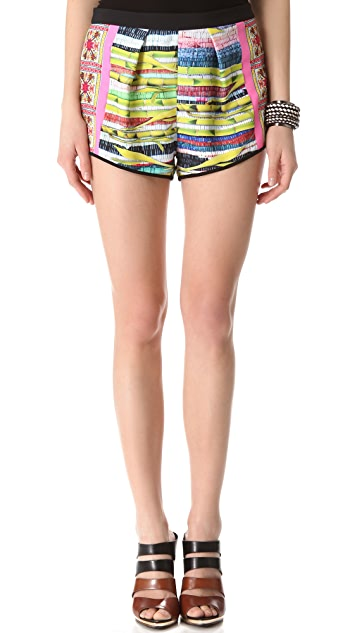 Clover Canyon Surf Shack Mini Shorts