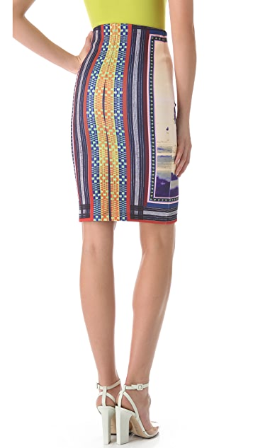Clover Canyon Neoprene Pencil Skirt