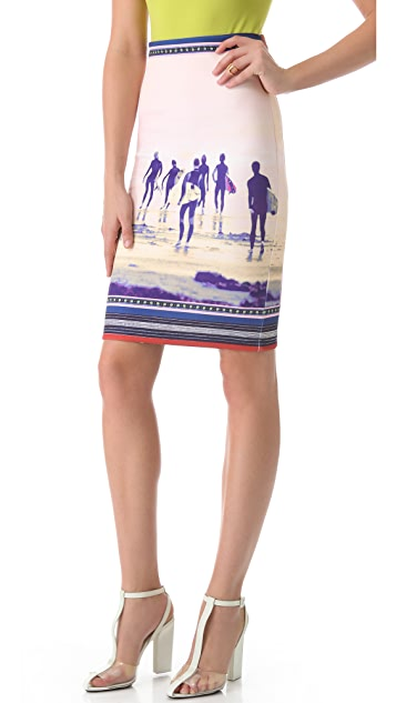 Clover Canyon Neoprene Pencil Skirt