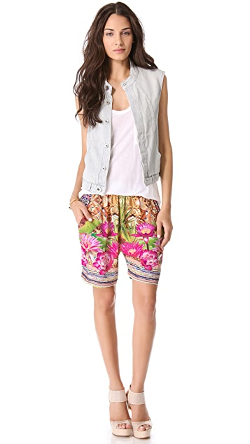Clover Canyon Fools Gold Board Shorts
