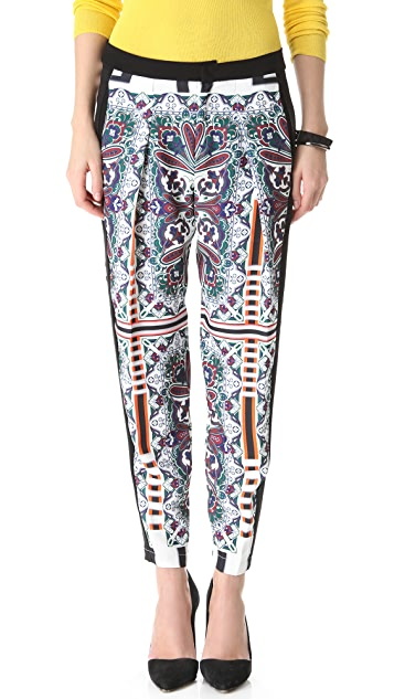 Clover Canyon Paisley Road Pants