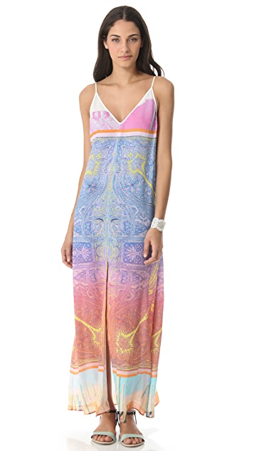 Clover Canyon Paisley Desert Maxi Dress