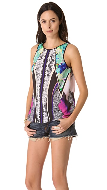 Clover Canyon Jaipur Jungle Crossback Tank