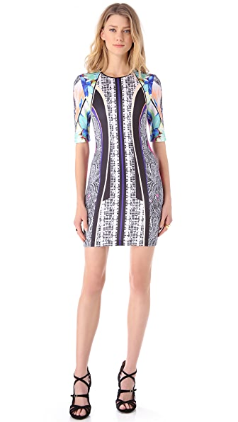 Clover Canyon Jaipur Jungle Neoprene Dress