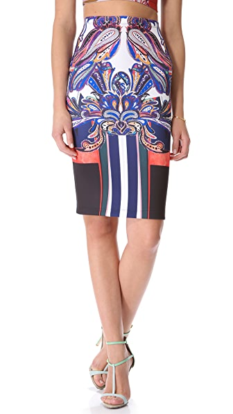 Clover Canyon Geometric Owl Skirt