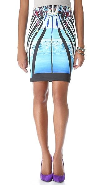 Clover Canyon Glacial City Skirt