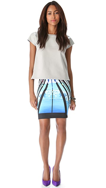 Clover Canyon Glacial City Skirt