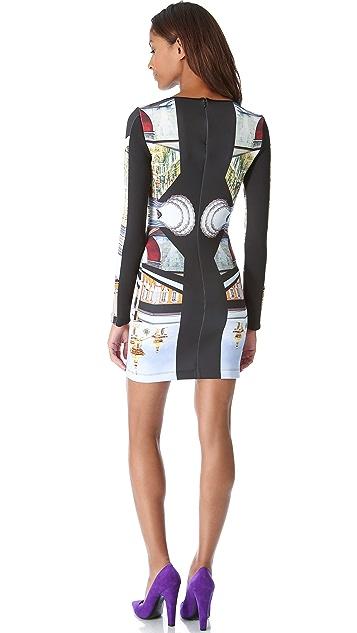 Clover Canyon Metro Palace Plate Pencil Dress