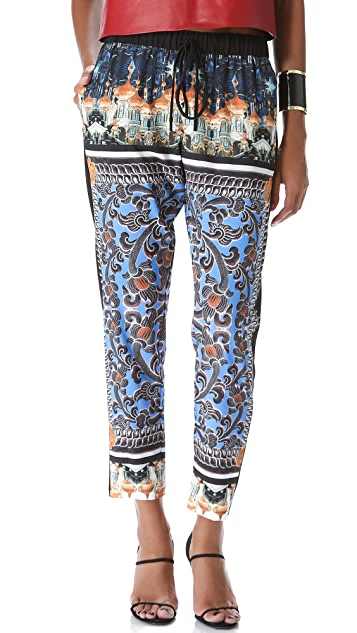 Clover Canyon Arabesque Scarf Drawstring Pants