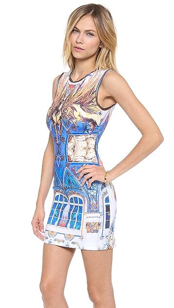 Clover Canyon Pegasus Sleeveless Neoprene Dress