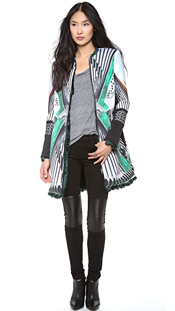 Clover Canyon Accordion Zip Reversible Jacket