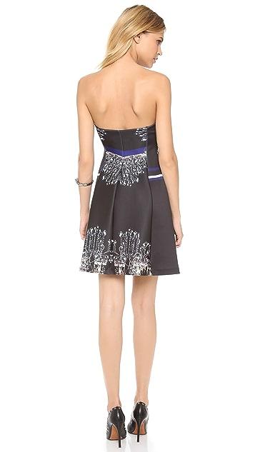 Clover Canyon Russian Enamel Strapless Dress