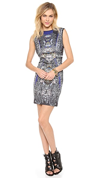 Clover Canyon Russian Enamel Sleeveless Dress