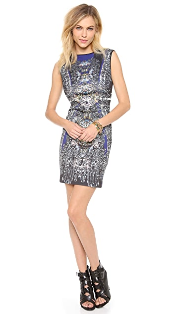Clover Canyon Russian Enamel Sleeveless Dress