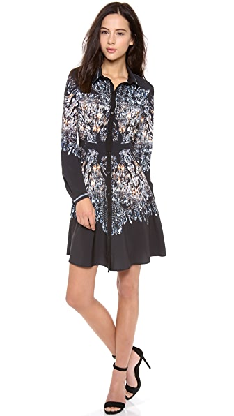 Clover Canyon Chandelier Shirtdress