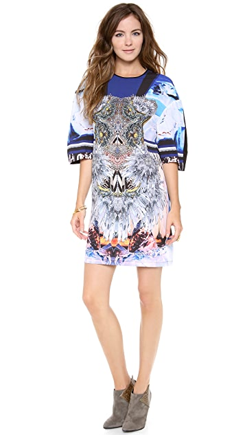 Clover Canyon Crystal Corset Dress