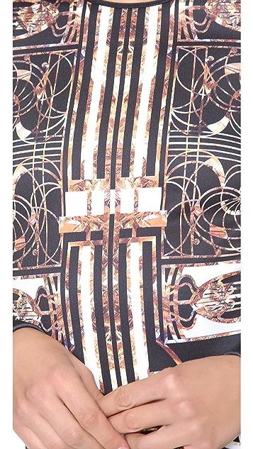 Clover Canyon Gatsby Long Sleeve Dress