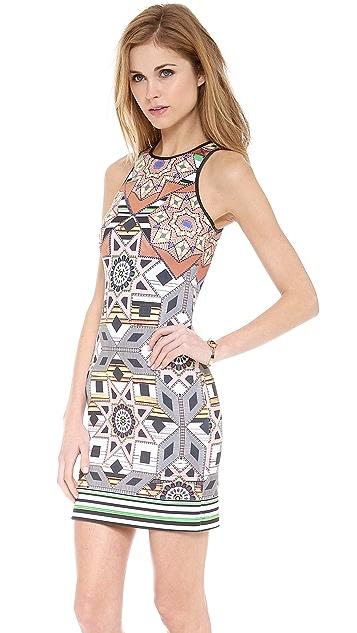 Clover Canyon Diamond Quilt Dress