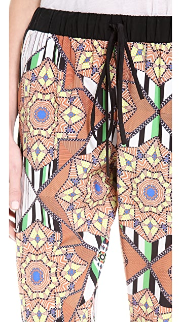 Clover Canyon Diamond Quilt Drawstring Pants
