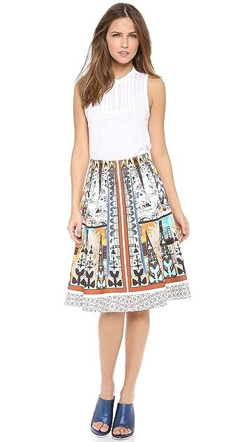 Clover Canyon Havana Circle Full Skirt