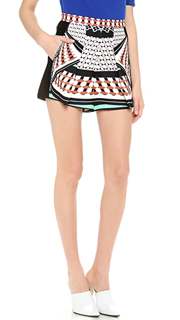 Clover Canyon Twist Scarf Shorts