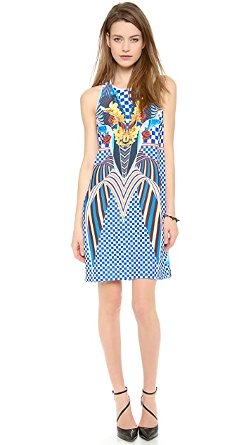 Clover Canyon Crashing Waves Dress